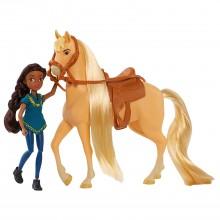 Mustang Spirit: Riding Free - Pru i Chica Linda - Figurka i koń 39053