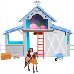 Mustang Spirit: Riding Free - Stajnia dla koni - Spirit i Lucky 39060