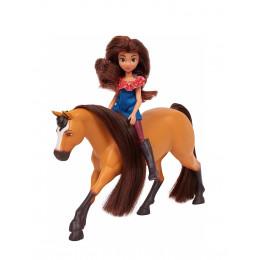Mustang Spirit: Riding Free - Mała lalka Lucky i Spirit – 39234