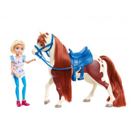 Mustang Spirit: Riding Free - Mała lalka Abigail i Boomerang – 39235