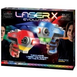 Laser X Evolution – Zestaw dwóch blasterów na podczerwień LAS88908