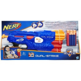 NERF B4620 N-Strike ELITE MEGA Wyrzutnia DUAL - STRIKE