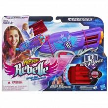 NERF A8760 REBELLE Pistolet Messenger Ukryte Wiadomości