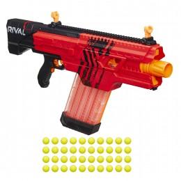 NERF Rival - Khaos MXVI-4000 - Wyrzutnia piankowych kulek B3859 - Czerwona