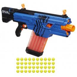 NERF Rival - Khaos MXVI-4000 - Wyrzutnia piankowych kulek B3860 - Niebieska