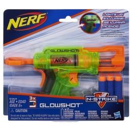 Hasbro B4615 NERF N-Strike Stealth - Świecący Pistolet Glowshot