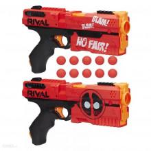 NERF Rival - Pistolety Deadpool Marvel - Kronos XVIII-500 E0861