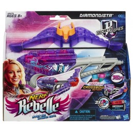 NERF A8496 REBELLE Mini Kusza Diamondista