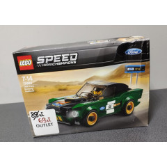 OUTLET - LEGO SPEED CHAMPIONS Ford Mustang Fastback - 75884