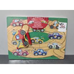 OUTLET - Melissa & Doug Gra magnetyczna pojazdy - 13777