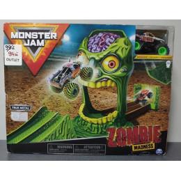 OUTLET - Monster Jam zestaw Zombie Madness z terenówką - 3383