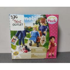 OUTLET - Playmobil Klara z tatą i panną Rottenmeier - 70258