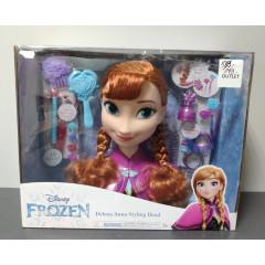 OUTLET - Frozen Kraina Lodu - Głowa do stylizacji Anna - 32570 32571