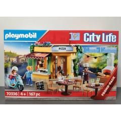 OUTLET – Playmobil 70336 – Pizzeria z ogródkiem restauracyjnym