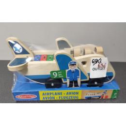OUTLET - Melissa & Doug samolot pasażerski drewniany- 19394