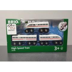OUTLET - Brio pociąg ekspresowy z dźwiękiem - 33748