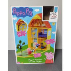 OUTLET - Świnka Peppa - Domek z ogrodem - 06156