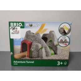 OUTLET - BRIO Kamienny Tunel z dźwiękami - 33481