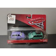 OUTLET - Cars 2pak Minny i Van - DXV99 DXW06