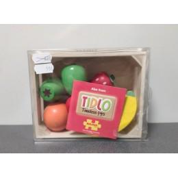 OUTLET – Tidlo – Drewniane owoce w skrzynce – T0131