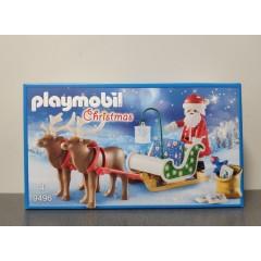 OUTLET – Klocki Playmobil sanie Świętego Mikołaja – 9496