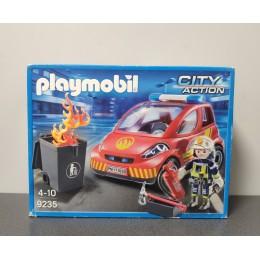 OUTLET – Klocki Playmobil samochód strażacki – 9235