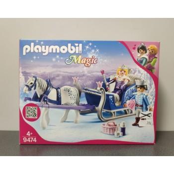 OUTLET – Klocki Playmobil Magic sanie z parą królewską – 9474