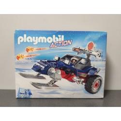 OUTLET – Klocki Playmobil Action pojazd płozowy z piratem polarnym – 9058