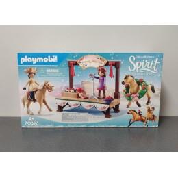 OUTLET – Klocki Playmobil Spirit: Riding Free Mustang – koncert świąteczny – 70396