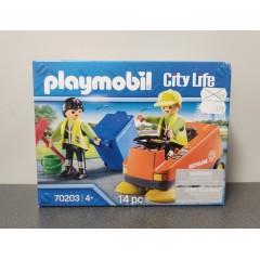 OUTLET – Klocki Playmobil City Life zamiatarka uliczna – 70203