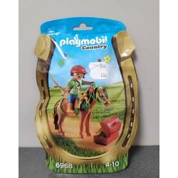 OUTLET – Klocki Playmobil Country kucyk z ozdobą – 6968
