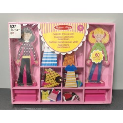 OUTLET – Melissa & Doug – Magnetyczna ubieranka lalki – 14940