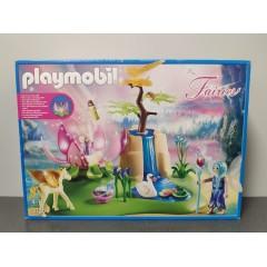 OUTLET – Klocki Playmobil świecący kwiat dzieci wróżek – 9135