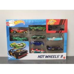 OUTLET – Hot Wheels zestaw 9 autek – X6999