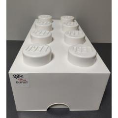 OUTLET – LEGO 8 pojemnik na zabawki 50 cm BIAŁY
