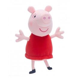 Świnka Peppa - maskotka Peppa w sukience - 06124