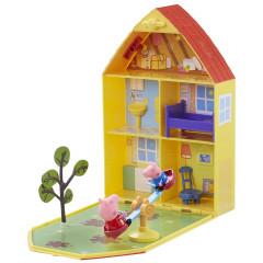 Świnka Peppa Domek Peppy z ogrodem - walizeczka 06156