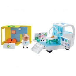 Świnka Peppa - Mobilne Centrum Medyczne z figurkami - 06722