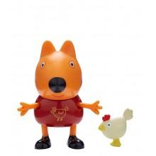 Świnka Peppa - Freddie z kurą - Figurki ze zwierzątkami 06918