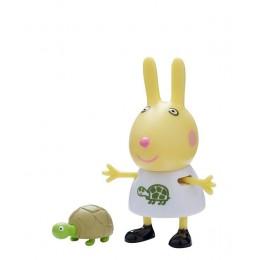 Świnka Peppa - Królik Rebeka z żółwiem - Figurki ze zwierzątkami 06918