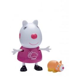 Świnka Peppa - Owieczka Suzy ze świnką morską - Figurki ze zwierzątkami 06918