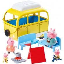 Świnka Peppa - Wycieczka kempingowa – samochód i figurki 06922