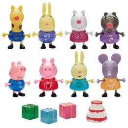 Świnka Peppa - Zestaw figurek - Urodziny Peppy z tortem 06927