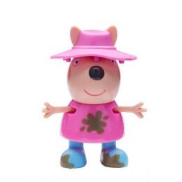 Świnka Peppa - Figurki Dress and Play - Figurka w kapeluszu - 07043