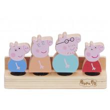 Świnka Peppa – Zestaw drewnianych figurek – 07207