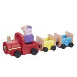 Świnka Peppa – Drewniany pociąg Dziadka – 07210