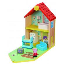 Świnka Peppa – Drewniany domek Peppy z akcesoriami - 07213