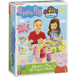 Świnka Peppa - Ciastolina Softee Dough - 21027