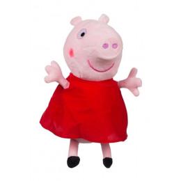 Świnka Peppa - Maskotka Peppa w czerwonej sukience 35,5 cm – 4650