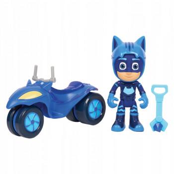 Pidżamersi - Księżycowy motocykl Kotboya - Pojazd i figurka 95111